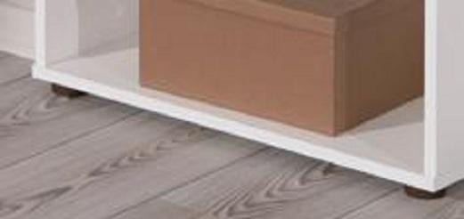 Raumteiler, Regal, Bücherregal, Bücherbord  Arco3 Weiß