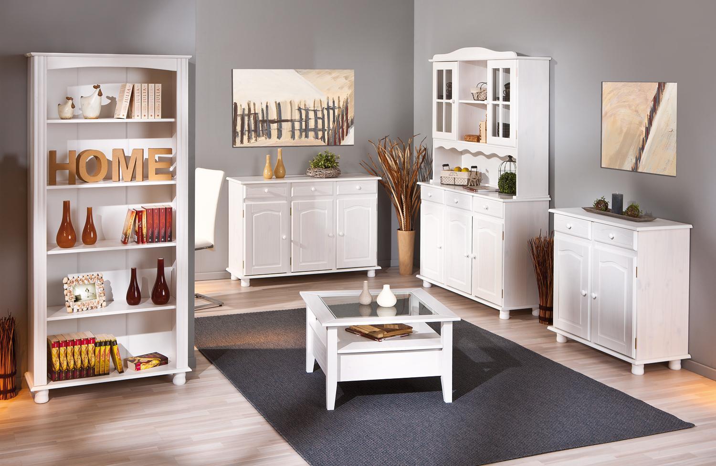 Regal Aktenregal Bücherregal Bücherboard Anke Kiefer Massiv Weiß