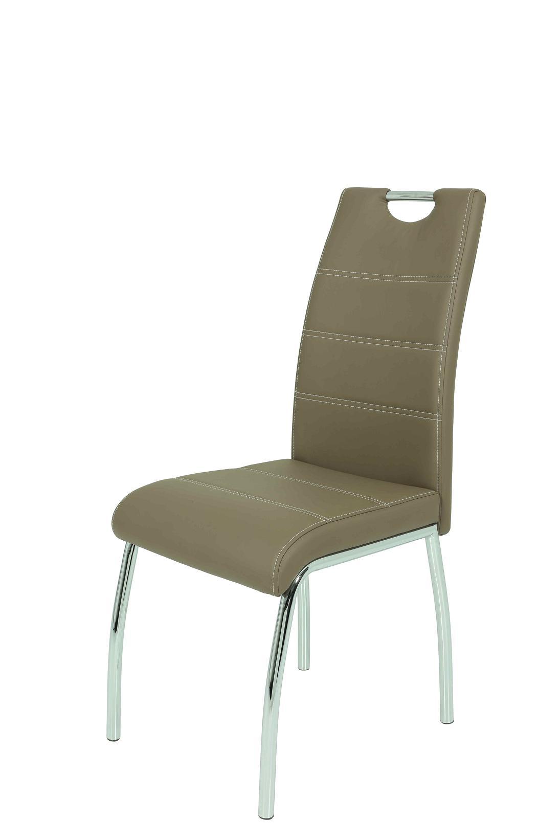 4 Stühle=Set Vierfussstuhl Stuhl Susi S 18 Kunstleder Latte