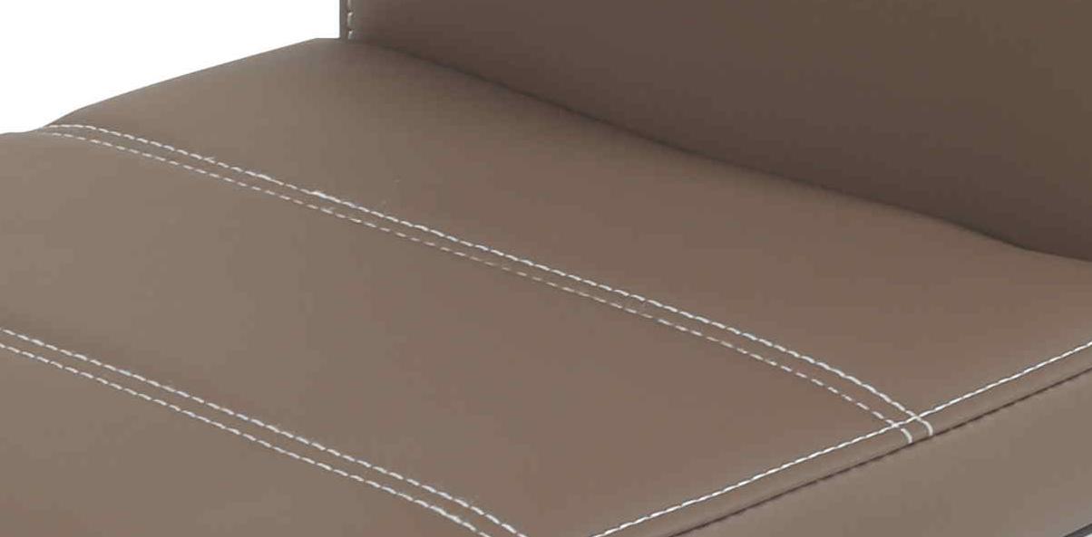 2 Freischwinger=Set Schwinger Stuhl Flora18 Kunstleder Latte