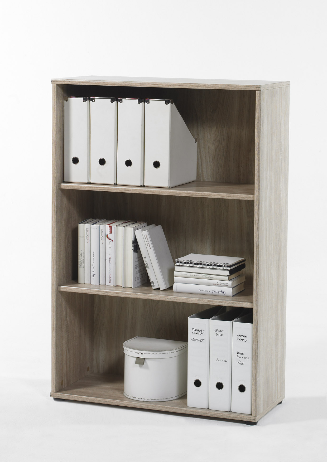 Regal Aktenregal Bücherregal Bücherboard 22118SE1 Sonoma Eiche Dekor