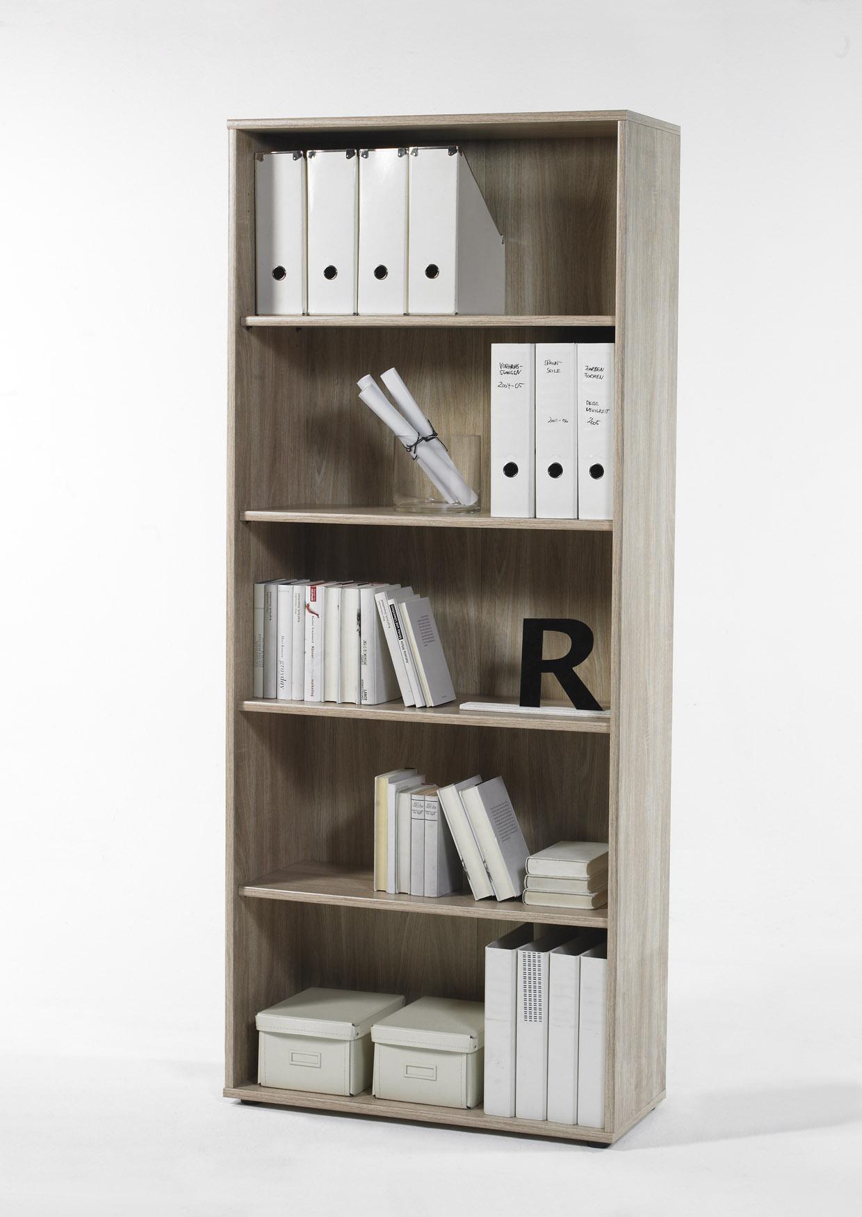 Regal Aktenregal Bücherregal Bücherboard 22188SE1 Sonoma Eiche Dekor