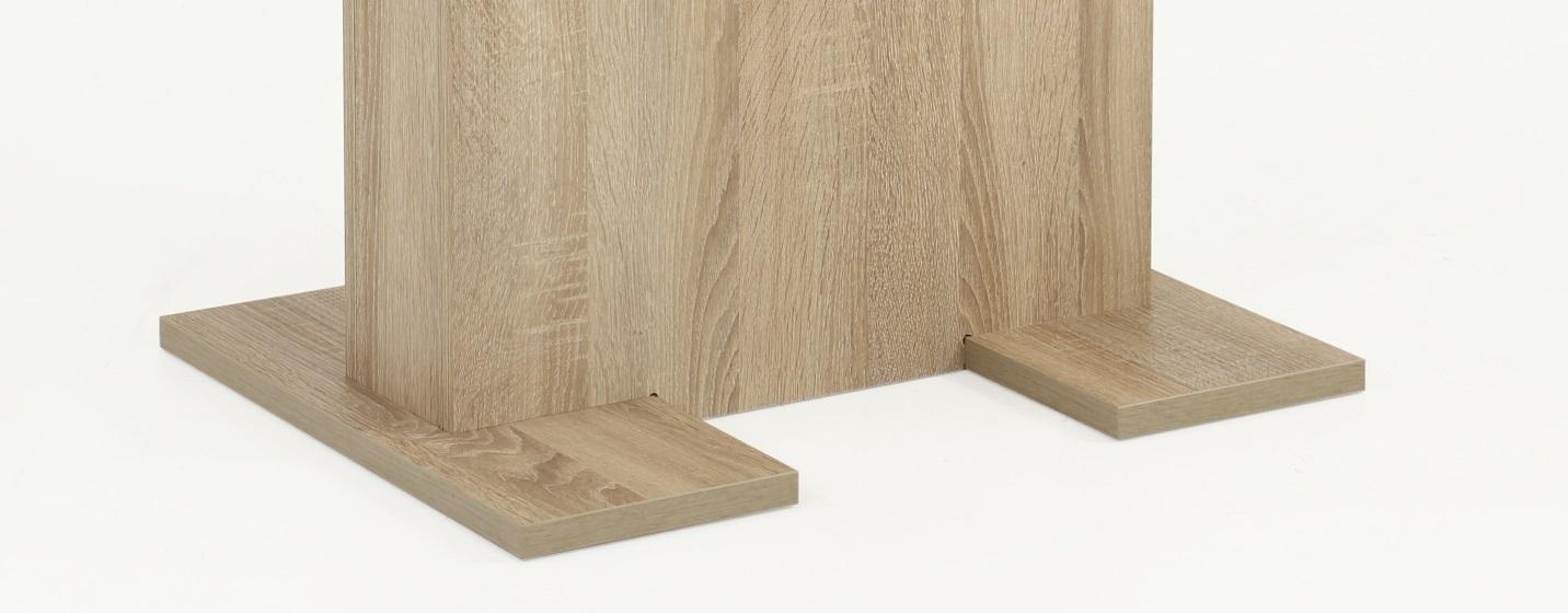 110x69 cm Esstisch, Säulentisch Britt 63 Sonoma Eiche,ausziehbar