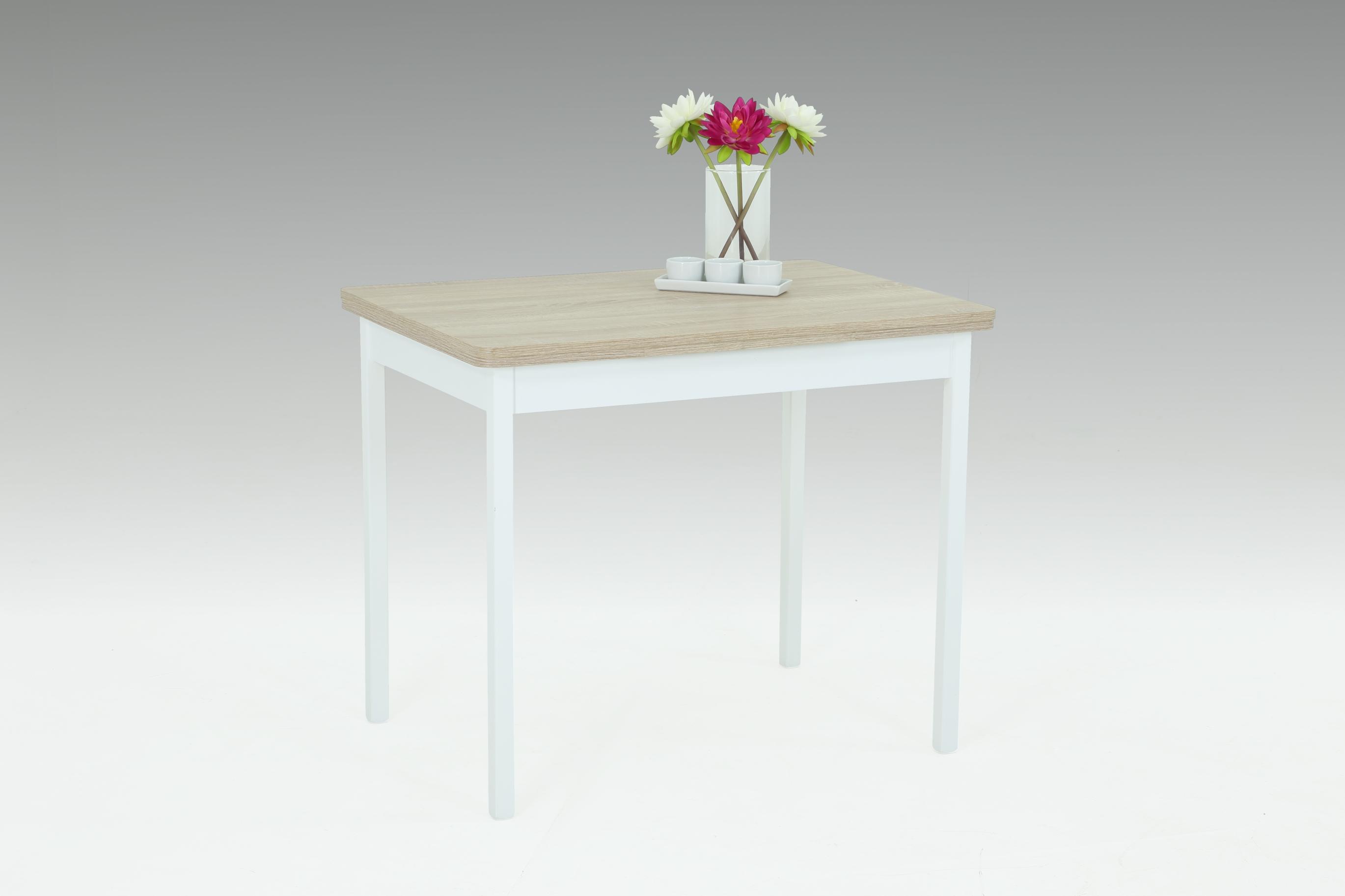 90-142x65 cm Esstisch Küchentisch Tisch Kiel I 63/13 ausziehbar