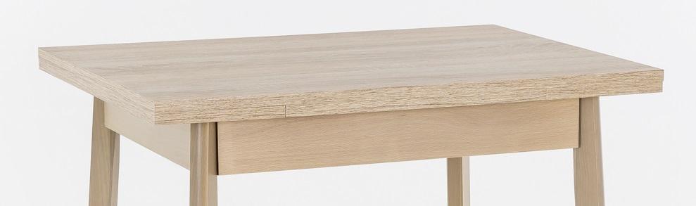 75-112x55 cm Esstisch Küchentisch Tisch Trier II 63 Eiche Sonoma Dekor ausziehbar