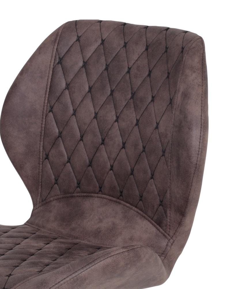 4 Stühle=Set Stuhl Küchenstuhl Esszimmerstuhl Retrostuhl Aurora S 56 Vintage Braun