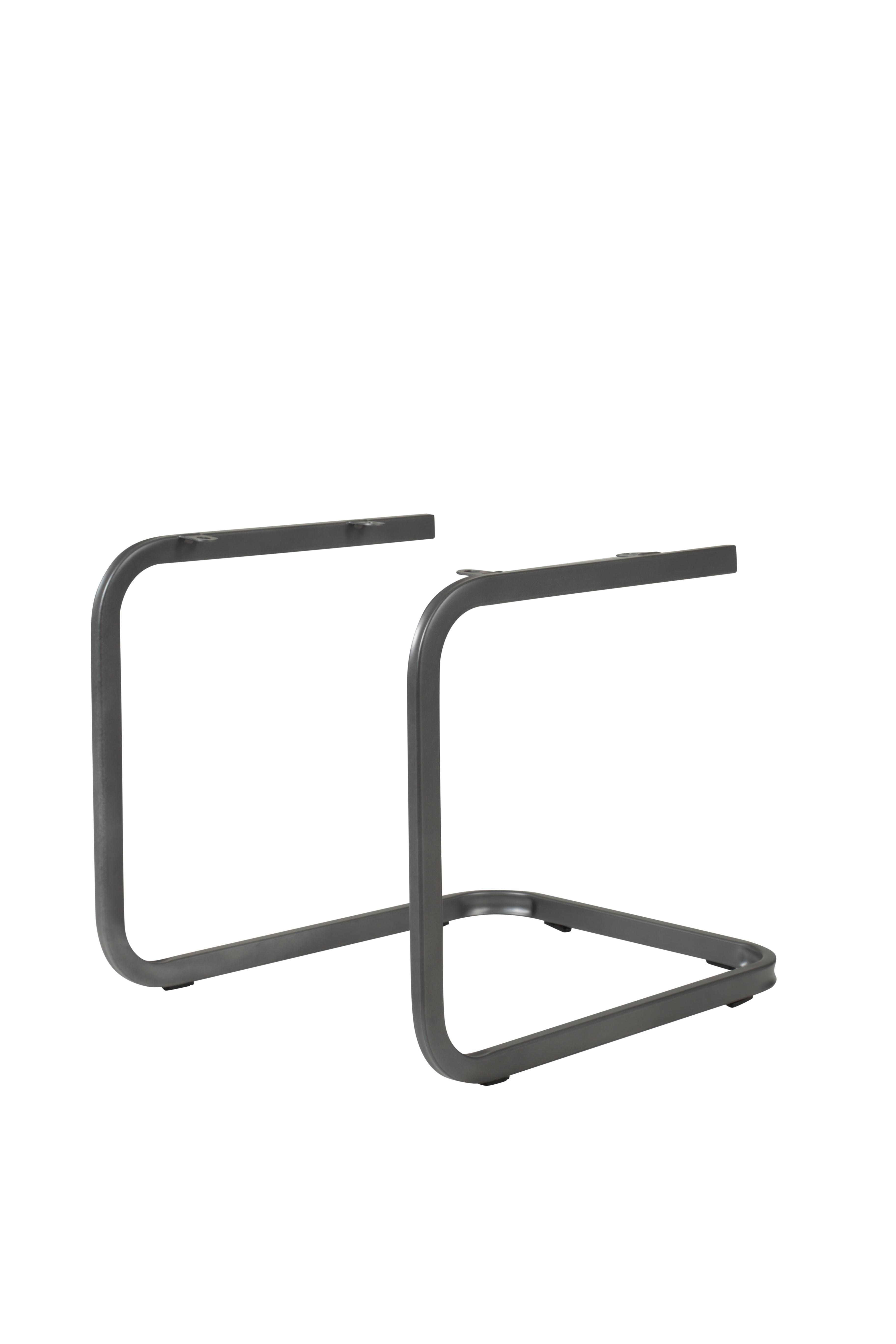 2 Freischwinger=Set Schwing - Stuhl Esszimmerstuhl Amber 2 Webstoff Anthrazit