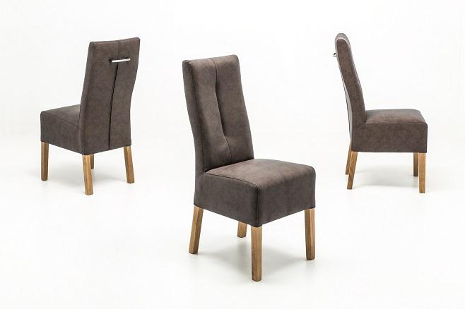 Esszimmerstuhl set Eiche Fabius Polsterstuhl Stuhl Küchenstuhl Braun Fbehpabx 6 Stühle 0wPvONy8mn