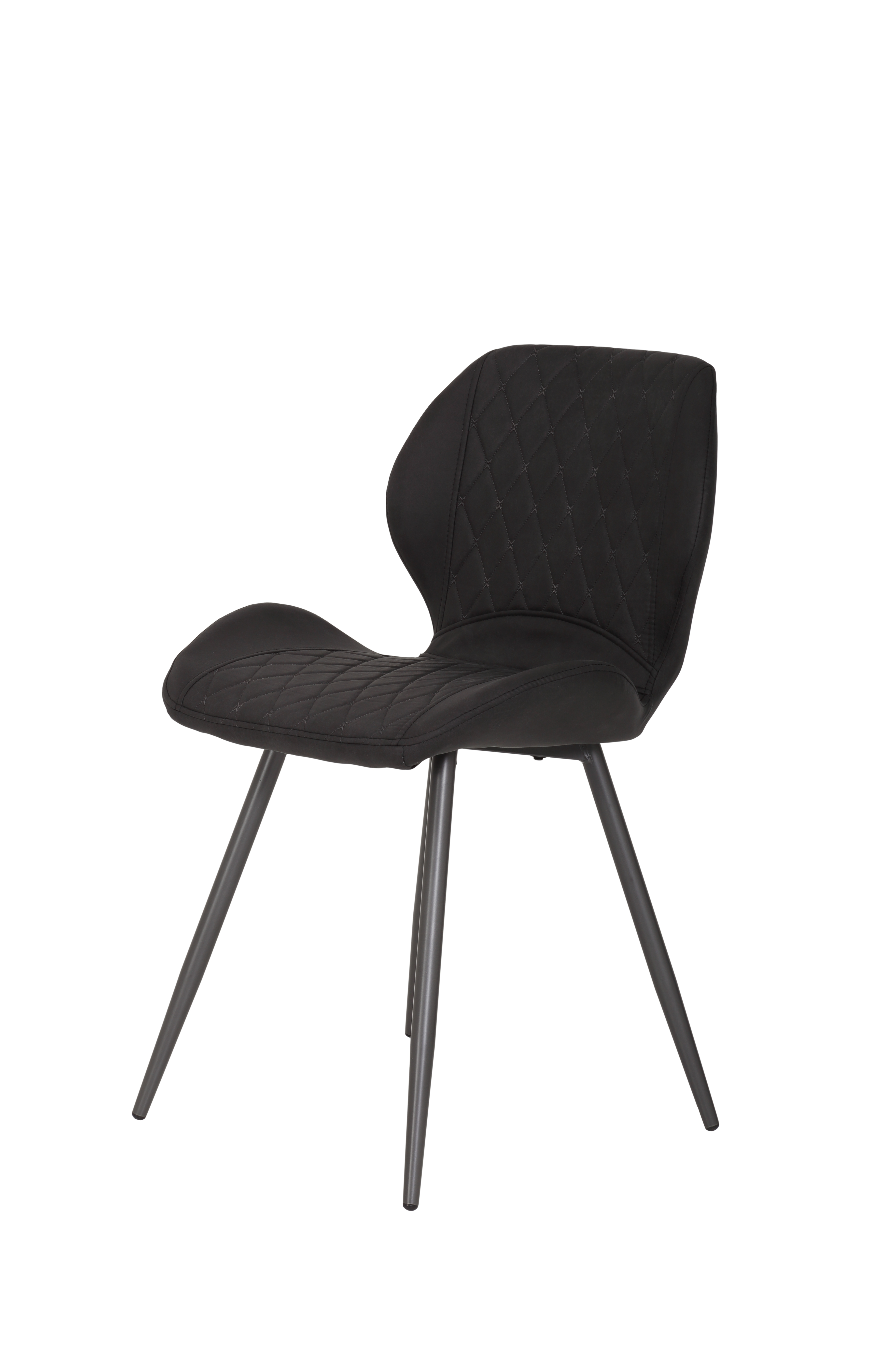 2 Stühle=Set Stuhl Küchenstuhl Esszimmerstuhl Retrostuhl Aurora S 46 Vintage Anthrazit