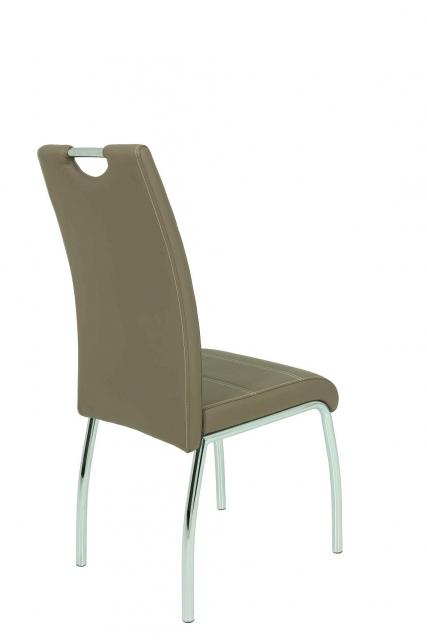 2 Stühle=Set Vierfussstuhl Stuhl Susi S 18 Kunstleder Latte