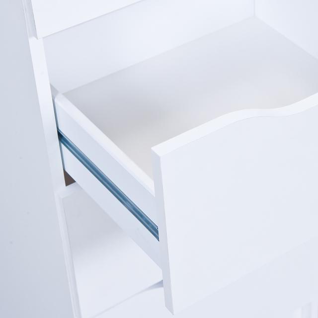 Anrichte Kommode Stauraum Schrank Westphalen 8B  Weiß