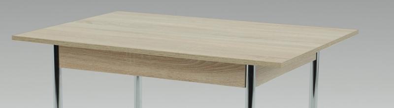 90x65 cm Esstisch Küchentisch Vierfußtisch Tisch Köln I 63/29 Chrom