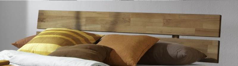 100x200 Bett Futonbett Holzbett Wildeiche Massiv Jen100E geölt