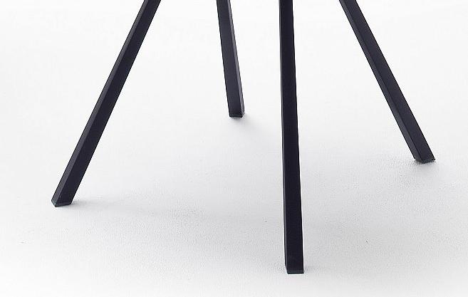 8 Armlehnstühle=Set Küchenstuhl 4-Fuß Stuhl Cocktailsessel PARANA2 Melange Drehbar P14A81MN