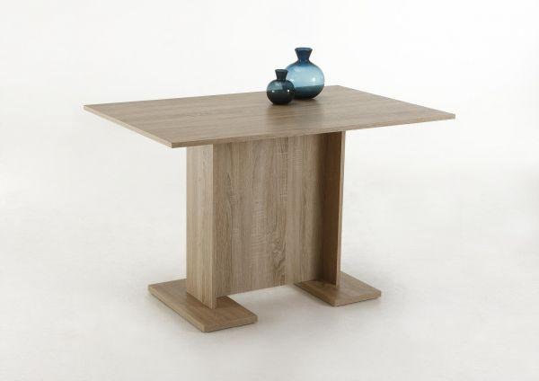 Säulentisch Esstisch Küchentisch InesIII63 Eiche Sonoma