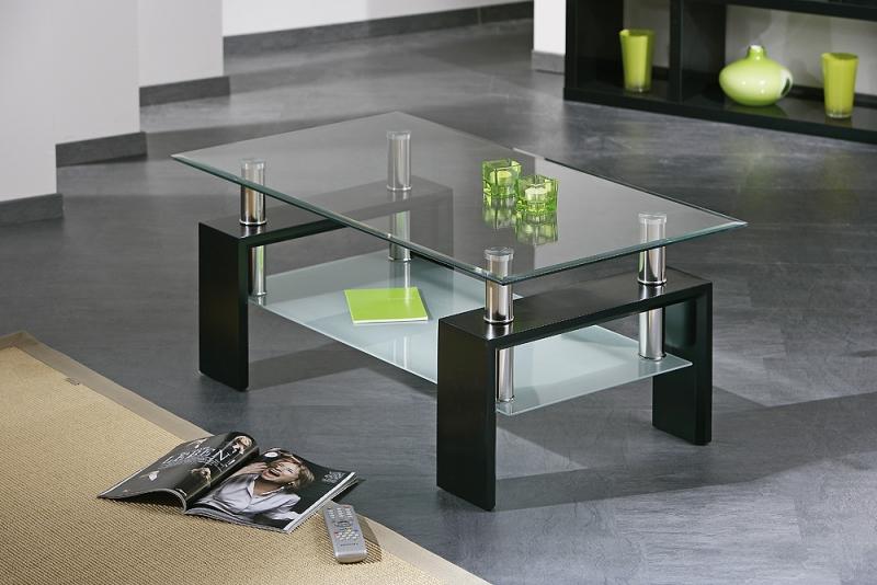Couchtisch, Ziertisch, Stubentisch, Wohnzimmer Tisch Dana Glas