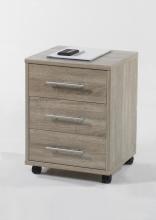 Rollcontainer Büro-Container 10245SE1 Sonoma Eiche Nachbildung