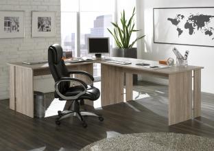 Schreibtisch Winkelschreibtisch Winkelkombination 10150SE1/10120SE1E Sonoma Eiche