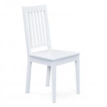4 Stühle=Set Stuhl Küchenstuhl Esszimmerstuhl Westerland 7.1 Weiß