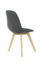 4 Stühle=Set Vierfussstuhl Stuhl GinaI28/06 Buche Anthrazit