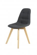 6 Stühle=Set Vierfussstuhl Stuhl GinaI28/06 Buche Anthrazit