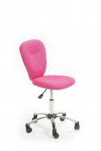 Drehstuhl Bürostuhl Kinder-Stuhl Schreibtischstuhl Mali Pink mit Rollen