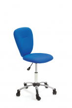 Drehstuhl Bürostuhl Kinder-Stuhl Schreibtischstuhl Mali Blue mit Rollen