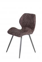 8 Stühle=Set Stuhl Küchenstuhl Esszimmerstuhl Retrostuhl Aurora S 56 Vintage Braun