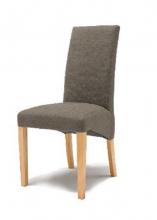 12 Stühle=Set Stuhl Küchenstuhl Esszimmerstuhl Polsterstuhl Foxi FOBNMETA Taupe Buche