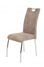 4 Stühle=Set Vierfussstuhl Stuhl Susi II S 70 Microfaser Vintage Beige
