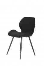 6 Stühle=Set Stuhl Küchenstuhl Esszimmerstuhl Retrostuhl Aurora S 46 Vintage Anthrazit