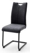 2 Freischwinger = SET Schwinger Schwingstuhl Küchenstuhl Stuhl ADANA Anthrazit ADSS29AN